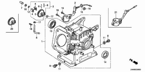 Honda 5 5 Gx160 Service Manual